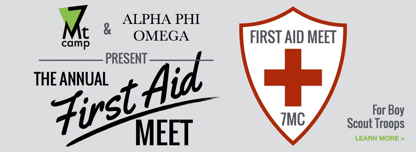 7MC and Alpha Phi Omega present The Annual First Aid Meet